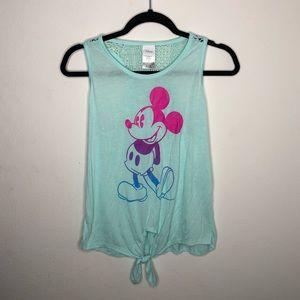 🦋3/$15 Juniors Disney Mickey Mouse Tank Size M